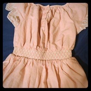 Little girls punk dress.